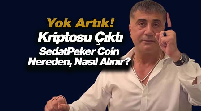 Sedat Peker'in Adına Kripto Para Çıkarıldı! Değeri 100 Bin Doları Aştı!