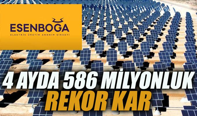 Esenboğa Elektrik'in günlük karı 6.5 milyona ulaştı