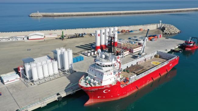 150 yıllık hayal Filyos Limanı yarın hizmete açılacak
