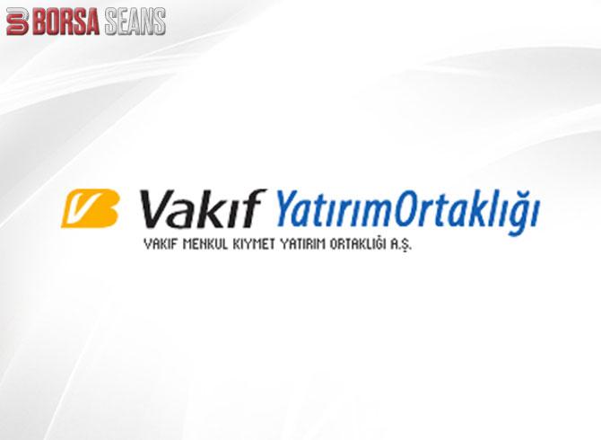 VKFYO,Vakıf Yatırım Ortaklığı,Hisse,Borsa