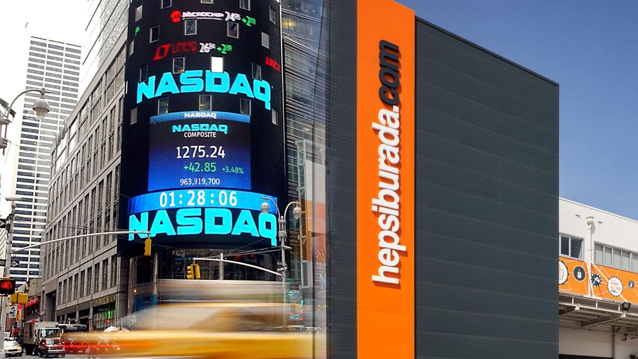 Hepsiburada'nın Nasdaq'taki değeri, 4.6 milyar dolara yükseldi