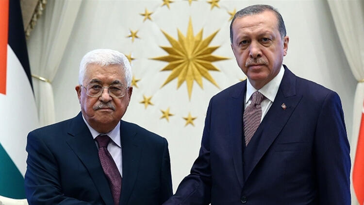 TÜRKİYE,Filistin,İsrail,ERDOĞAN,MAHMUT ABBAS