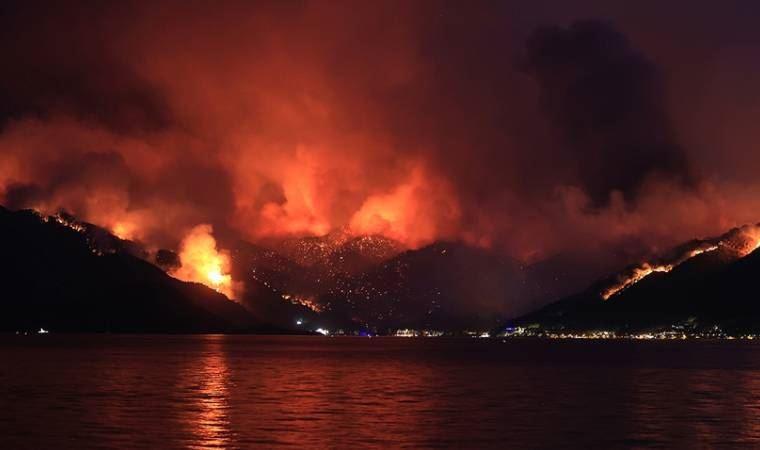 Orman yangınlarında 7'nci gün! Söndürme çalışmaları sürüyor