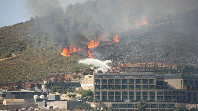 YK Enerji Milas'taki orman yangınlarına karşı helikopter kiraladı