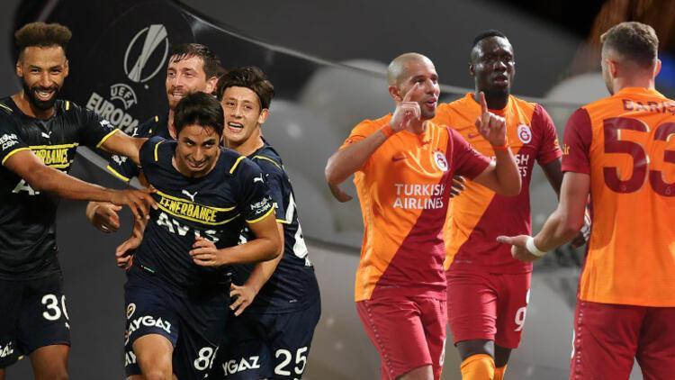 Galatasaray ve Fenerbahçe'nin UEFA Avrupa Ligi torbaları belli oldu! İşte Muhtemel rakipler...
