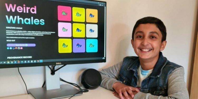 12 yaşındaki çocuk NFT satarak yaklaşık 3,3 milyon TL kazandı