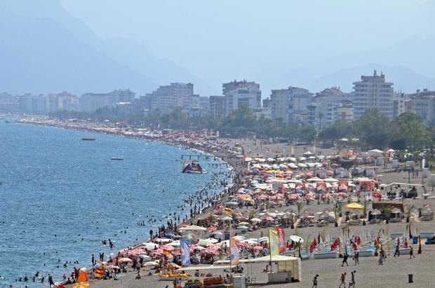 'Turizmin başkenti' Antalya'ya gelen turist sayısı 5 milyonu aştı