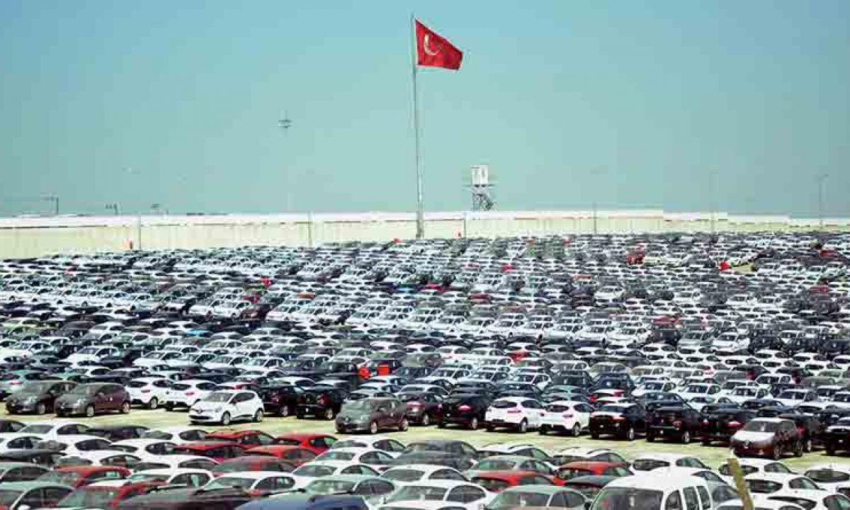 Türkiye'nin en büyük ihracat pazarı AB'de otomobil satışları düştü