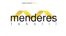 Menderes Tekstil ( #MNDRS) Düşen kanal direncinin üzerinden kapanış yaptı.