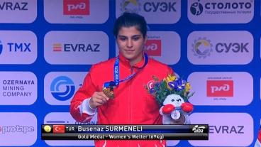 Busenaz Sürmeneli tarih yazdı! Olimpiyat şampiyonu oldu