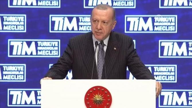 Cumhubaşkanı Erdoğan,yeni ihracat hedefini açıkladı